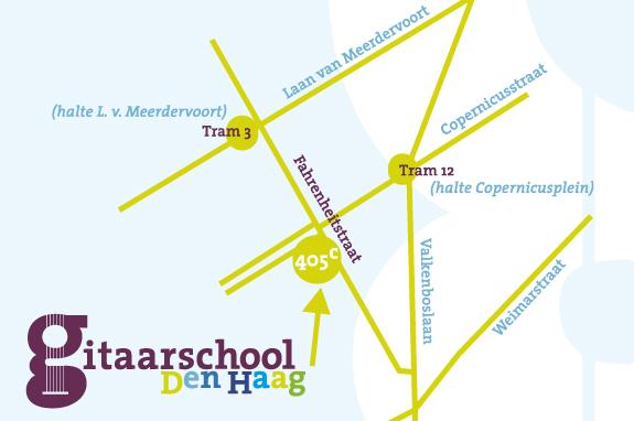Gitaarschool Den Haag Valkeboskwartier